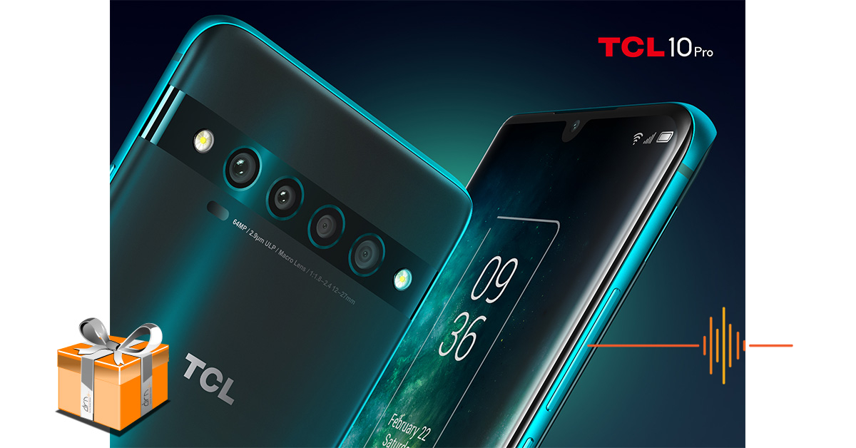 We are giving away a TCL 10 Pro!