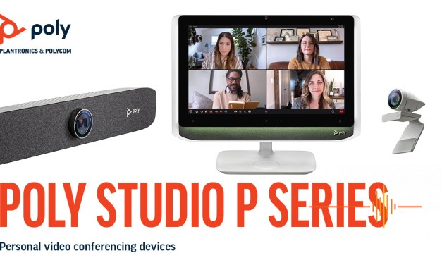 Poly Studio P – new video solutions for remote workers
