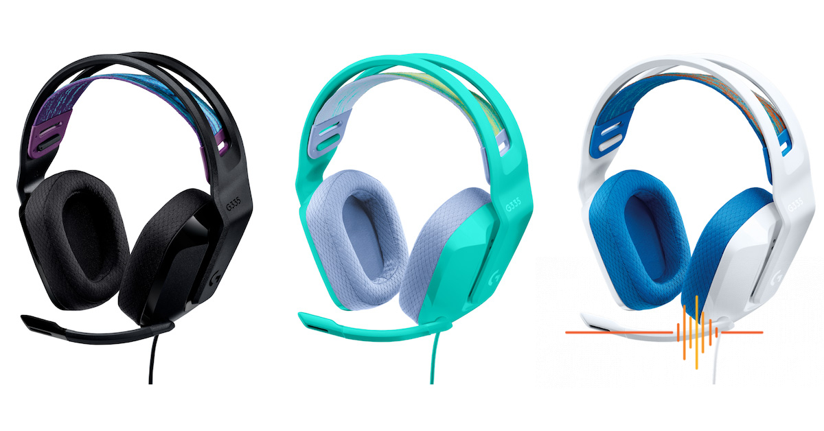 Fresh and Minty, Logitech G launches the G335 Wired Headset