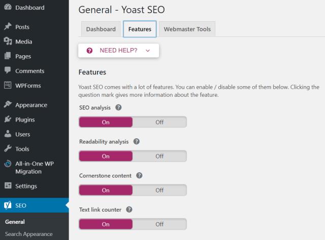 yoast-seo-plugin-freature section