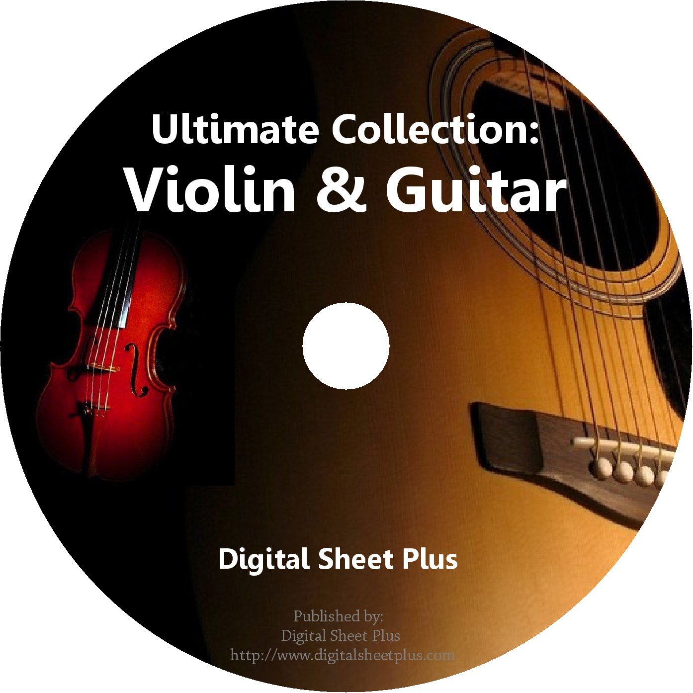 Ultimate Collection Violin Guitar Sheet Music On Dvd By