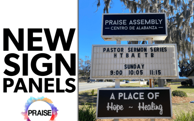 Praise Assembly Sign