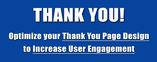Thank You Page Design