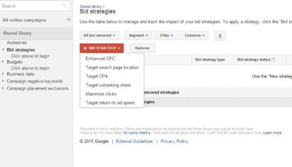 Right Bid Strategy Lowers Adwords Spend
