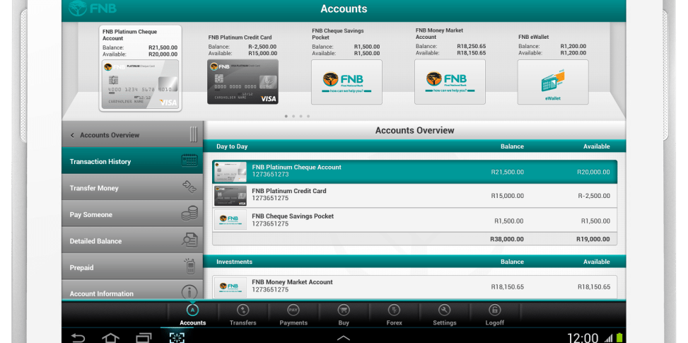 FNB launches next generation Banking App for tablets - Digital Street