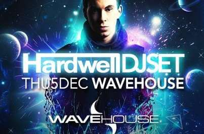 Hardwell WILL perform in Durban!