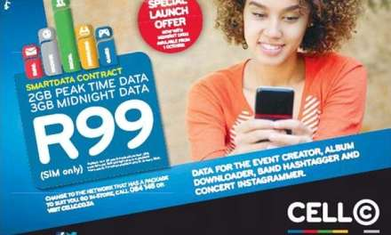 Cell C launches new 2GB + 3GB data special