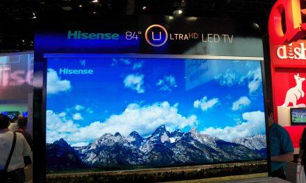 Hisense demonstrates the Evolution of TV