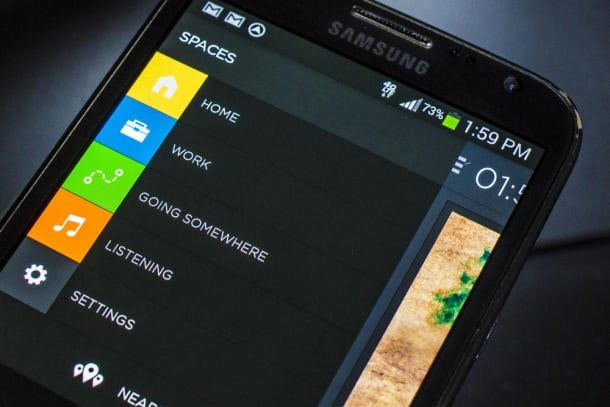 Aviate, The free hands-on Android app organizer