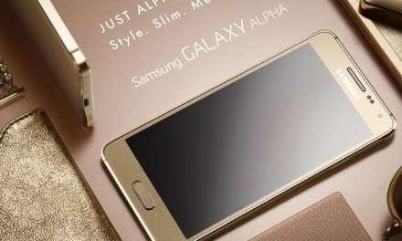 Samsung launches a Metal Frame Galaxy, The Galaxy Alpha
