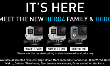 GoPro HERO4 & HERO now available in South Africa