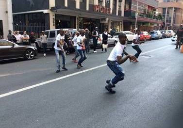 ALCATEL ONETOUCH takes Braamfontein by storm