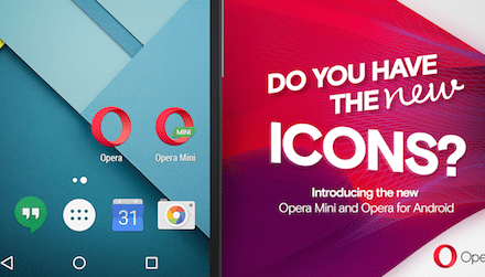 Opera browsers for Android with new features + new Opera logo