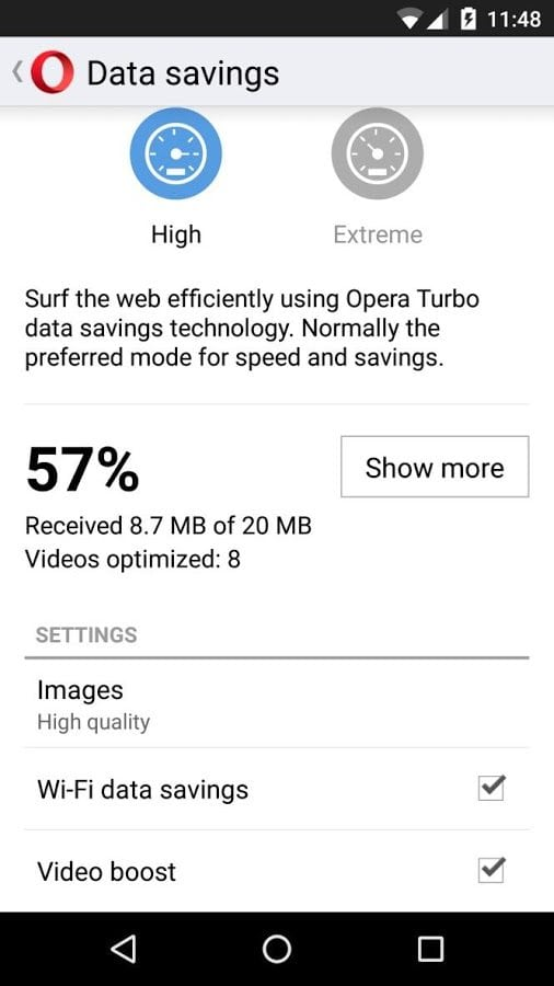 Video boost debuts faster video on Opera Mini for Android