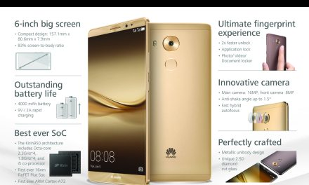 Everything You Need To Know About The Huawei Mate 8!
