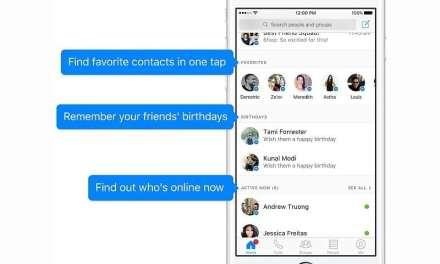 Facebook Unveils Updated Messenger Packed With New Features