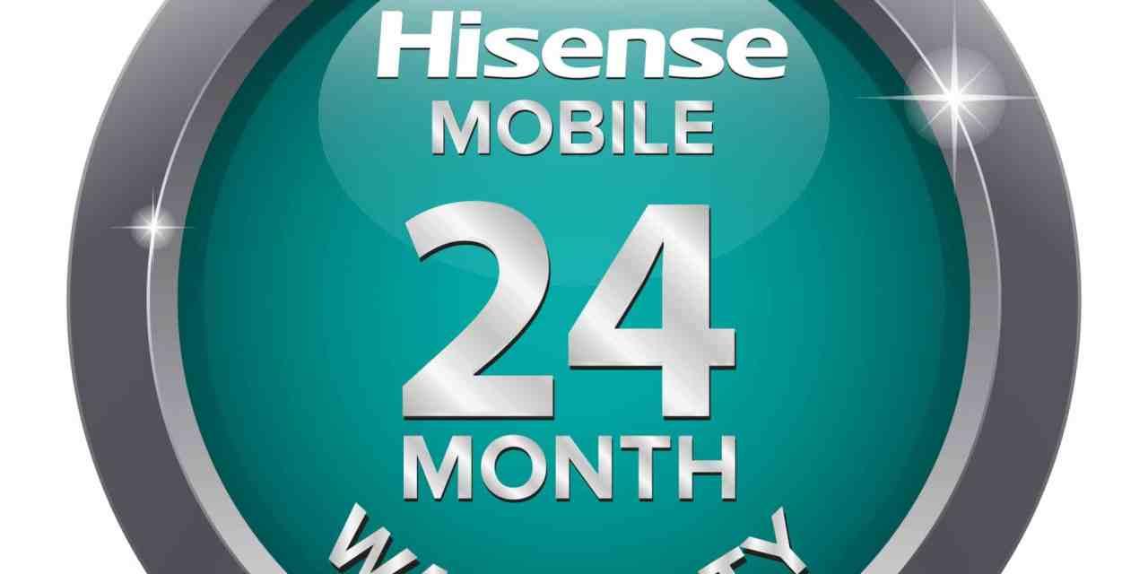 Hisense smartphones now offer 24-month warranty