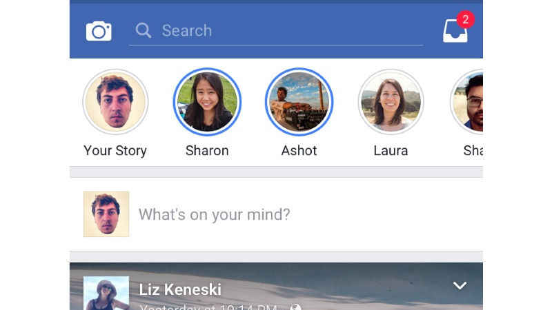 Snapchat-Like Stories Feature Gets Tested On Facebook