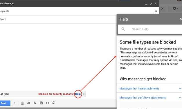 JavaScript Attachments Will Be Blocked On Gmail From February 13
