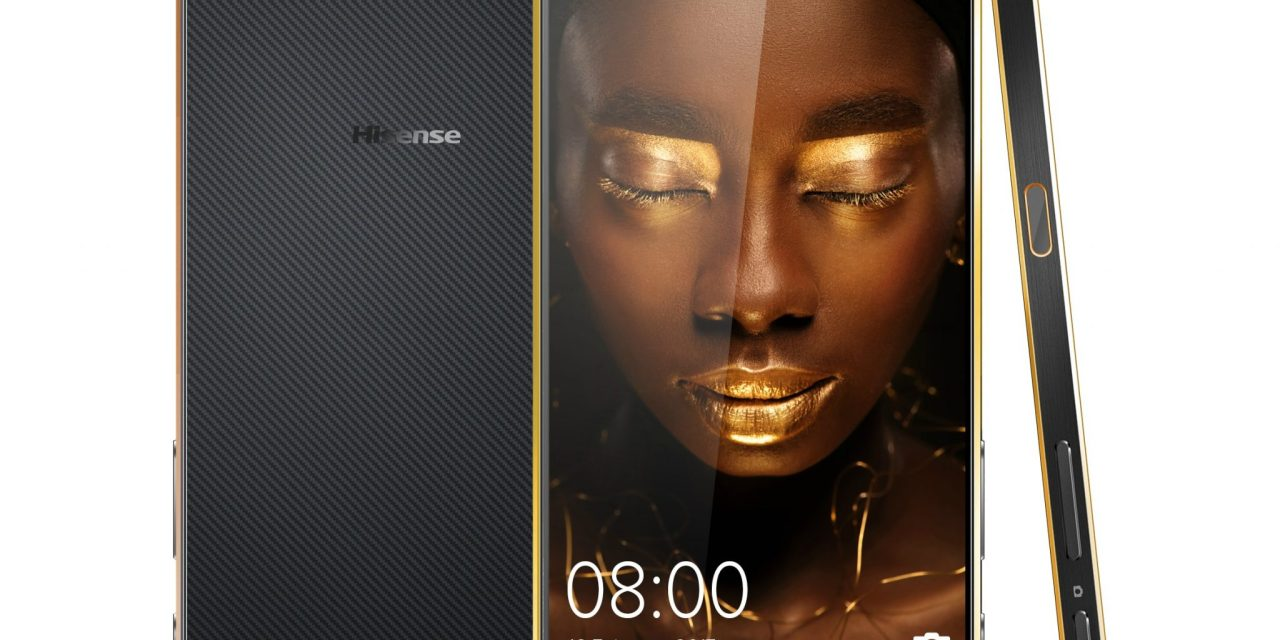 Hisense launches new 'life-dimensional' smartphone
