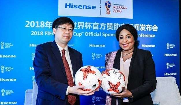 Hisense Becomes Official Sponsor of 2018 FIFA World Cup