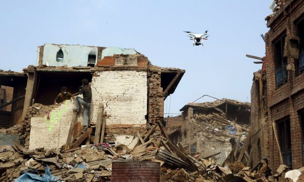 How drones will support future fire disaster management