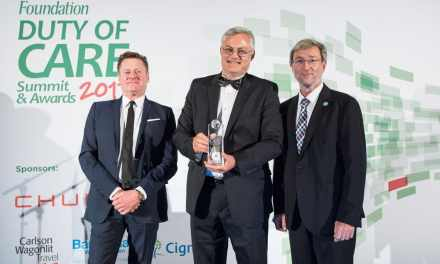 FirstRand wins International SOS Foundation global award for its leadership, foresight and innovation in protecting its mobile workforce