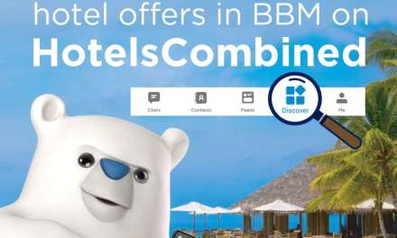 BBM Messenger and HotelsCombined Put Worldwide Accommodations at Users' Fingertips
