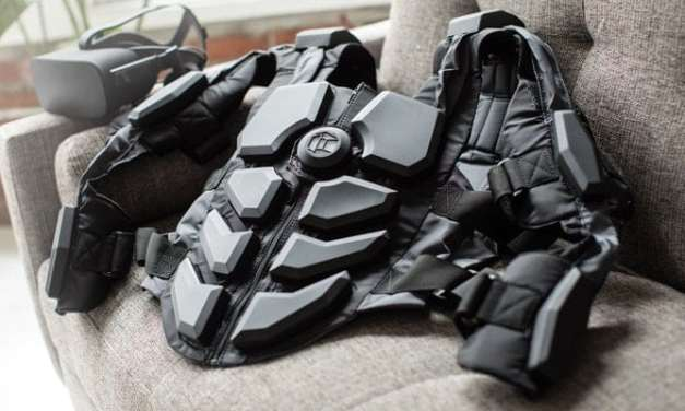 Affordable VR haptic feedback suit for South Africans by Hardlight VR
