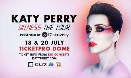 Katy Perry to Perform in South Africa for The First Time Ever!