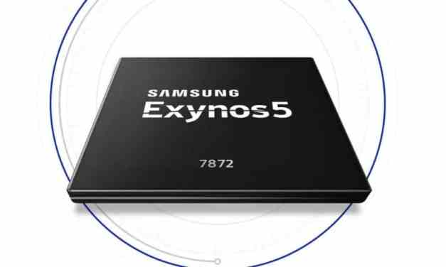 Samsung Launches Exynos 5 Series 7872 SoC