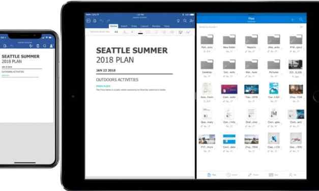 Microsoft Office brings Drag and Drop, Co-Authoring & Files App Support to iOS
