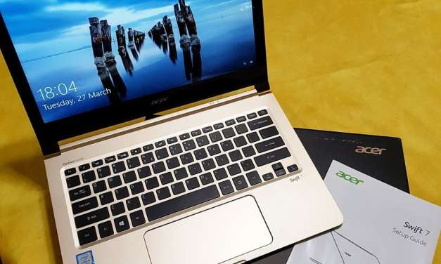 Review: Acer Swift 7 (2018)