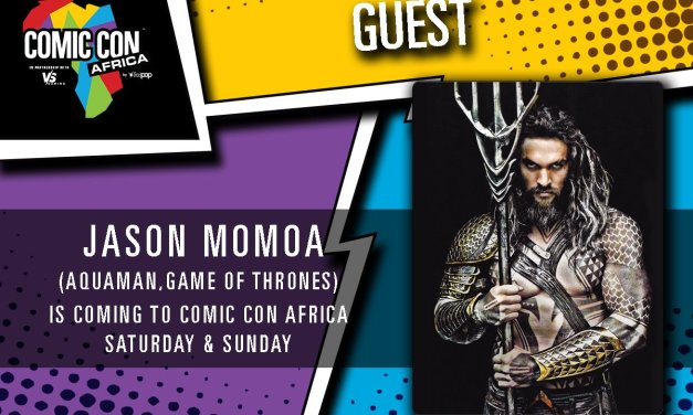 Jason Momoa aka Aquaman (Justice League) and Khal Drogo (Game of Thrones) is heading to South Africa!