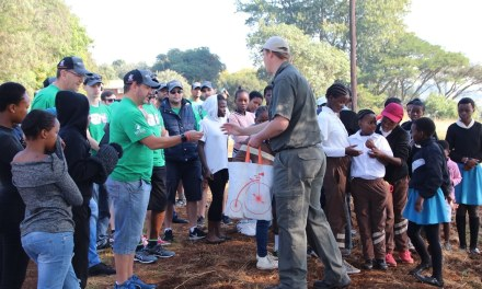 IT trailblazers, Network Configurations, dig in with the Trees4KZN project