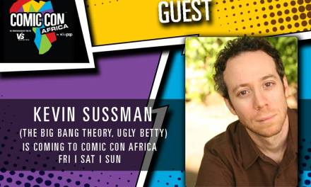 Comic Con Africa welcomes Big Bang Theory's Kevin Sussman to the line-up
