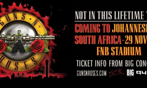 GUNS N' ROSES Not In This Lifetime TOUR confirmed for SOUTH AFRICA
