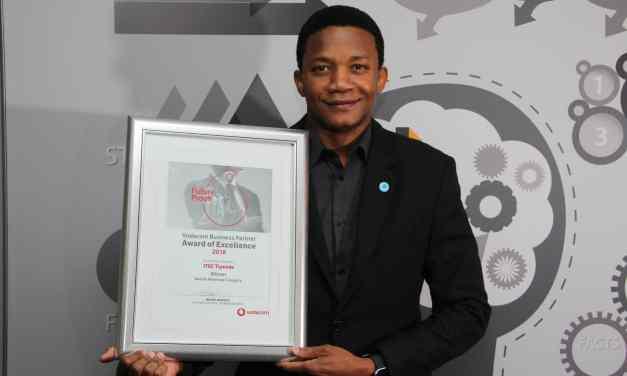 Itec Tiyende wins Vodacom partner award