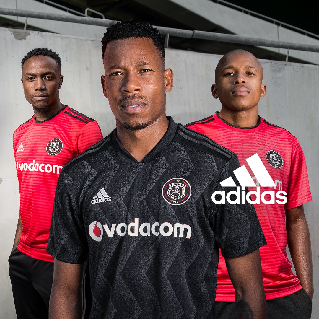 8b0f589fa13 adidas Football and Orlando Pirates reveal 2018 19 home and away kits