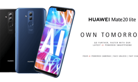 Huawei Launches Mate 20 Lite With 4 Cameras Along with AI Cube Smart Speaker