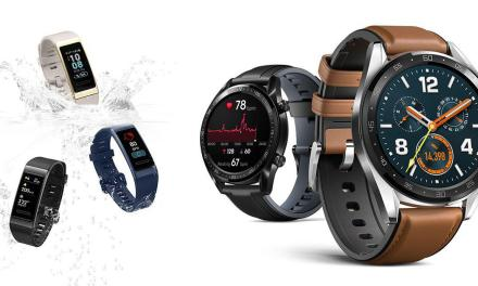 Huawei Launches Watch GT and Band 3 Pro Smart Wearables