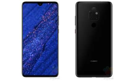 Leaked: Huawei Mate 20 Press Images