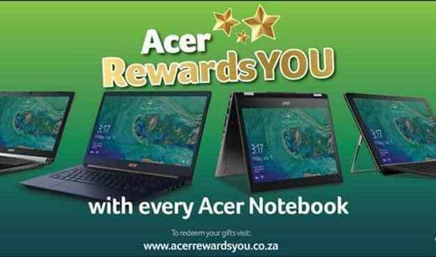 Acer Rewards Consumers