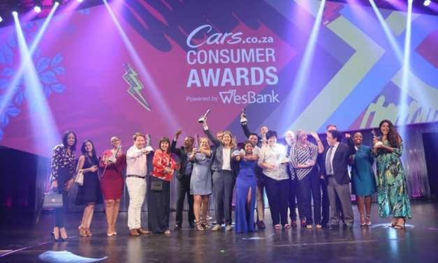 Winners: 2018/19 Cars.co.za Consumer Awards – powered by WesBank