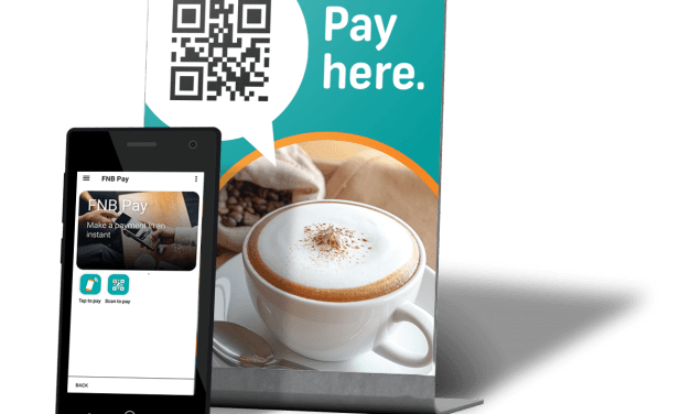 FNB is the first to launch consumer and merchant QR code payments on its banking app