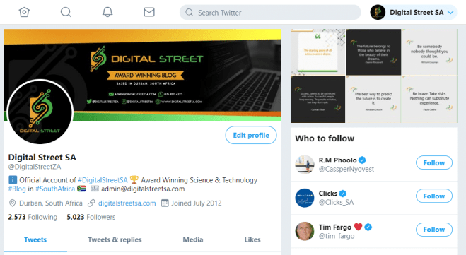 Twitter for Web Receives Redesigned Layout - Digital Street