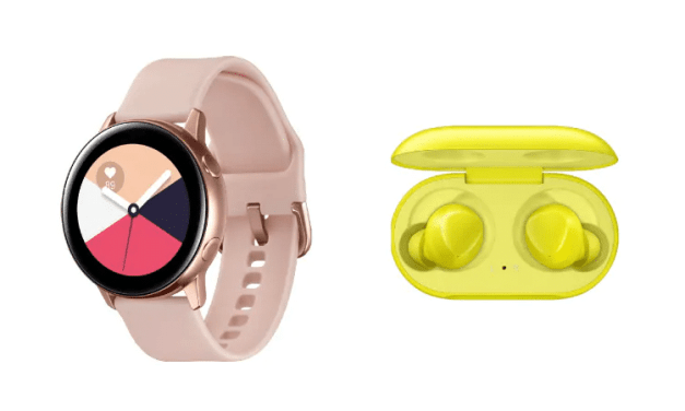 Samsung Galaxy Watch Active and Galaxy Buds Leaked Just Hours Before Official Unpacked 2019 Event