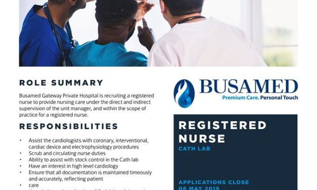 Vacancies: Busamed Gateway Private Hospital