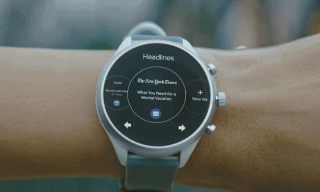 Google's Wear OS Receives All New 'Tiles' Feature