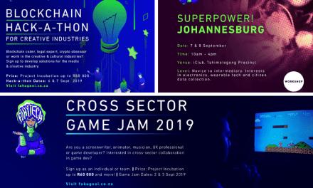 City of Johannesburg's Smart City Office Supports Digital Creativity at Fak'ugesi African Digital Innovation Festival